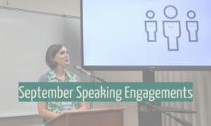 September Speaking Engagements -- Boundless Genealogy