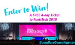 Enter to Win a Ticket to #RootsTech 2018 -- Boundless Genealogy
