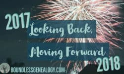 Looking Back, Moving Forward -- Boundless Genealogy
